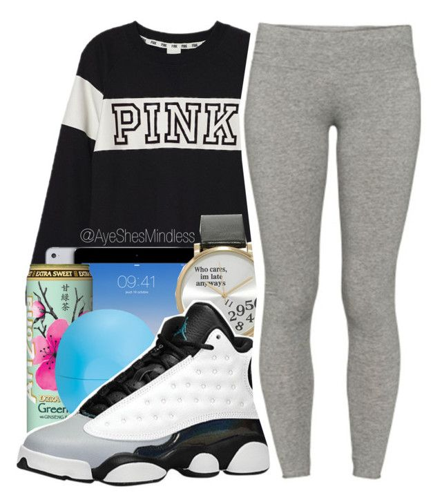 """:) ehh"" by ayeshesmindless ❤ liked on Polyvore featuring Victoria's Secret PINK, Eos, Forever 21, Retrò, TNA, women's clothing, women's fashion, women, female and woman"