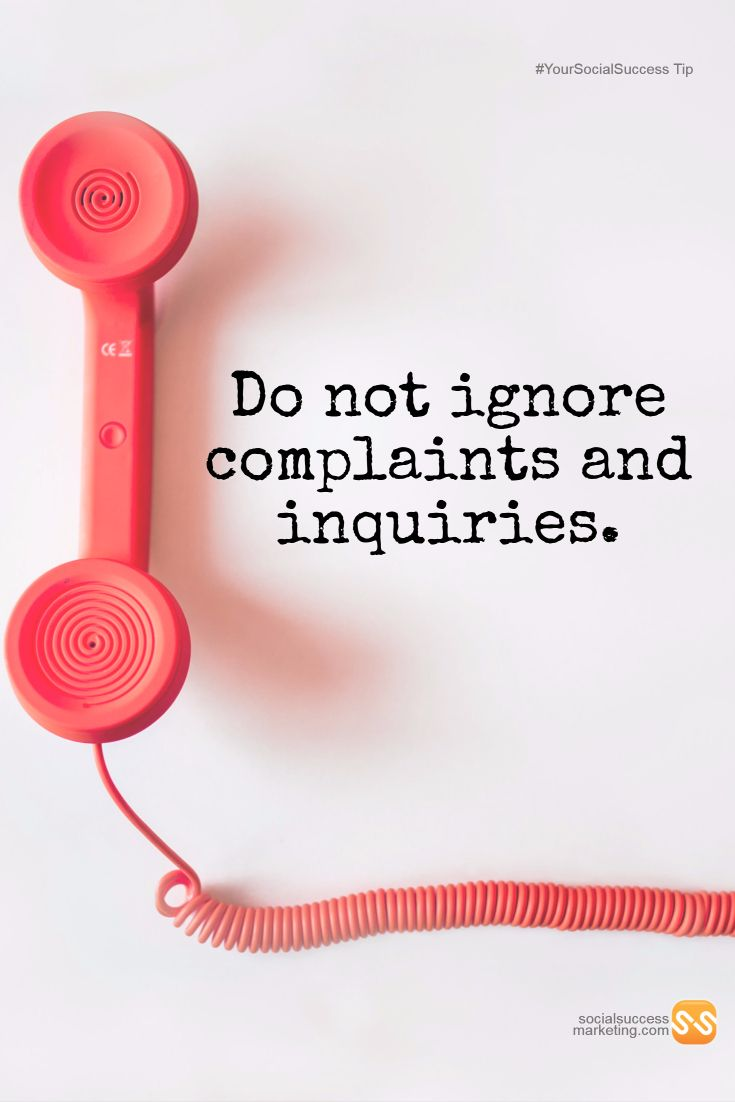 How do you respond to customer complaints and inquiries