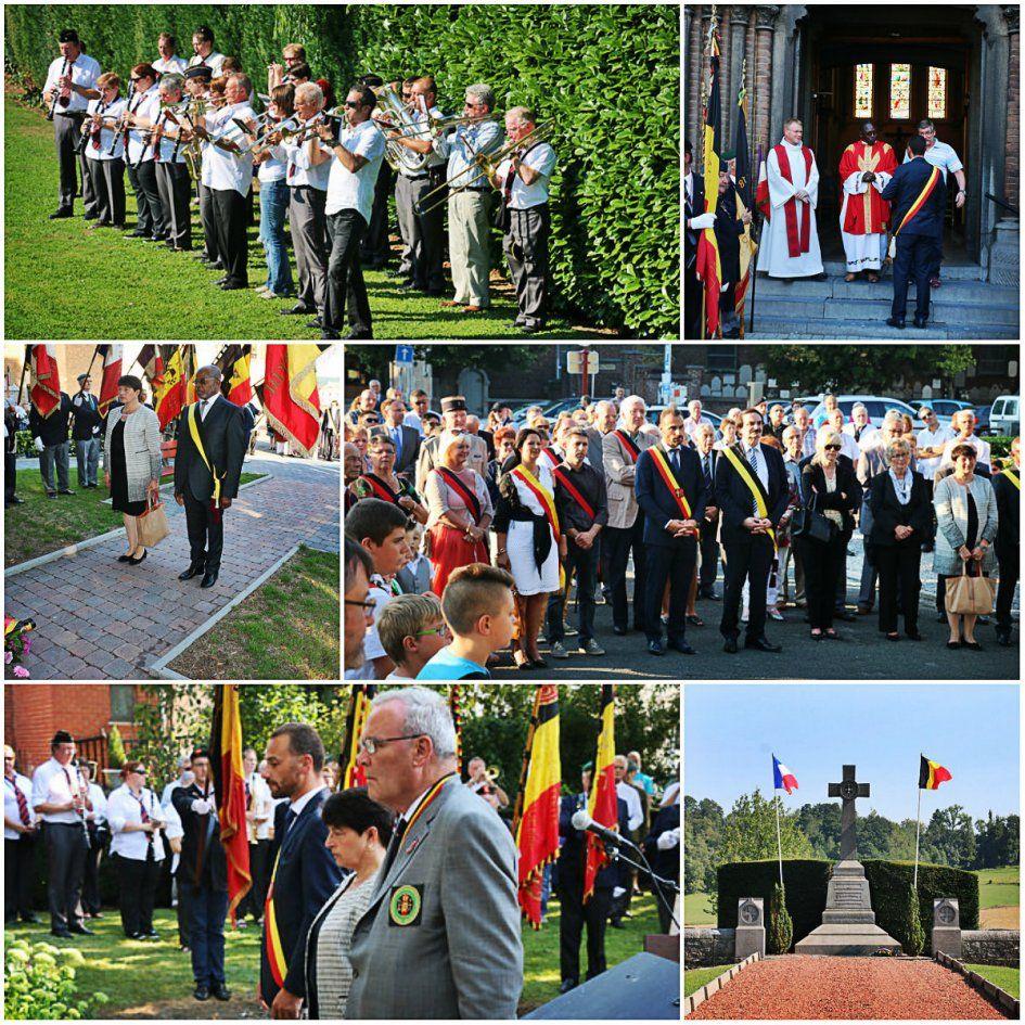 Commémoration du 101e anniversaire de la Première Guerre mondiale