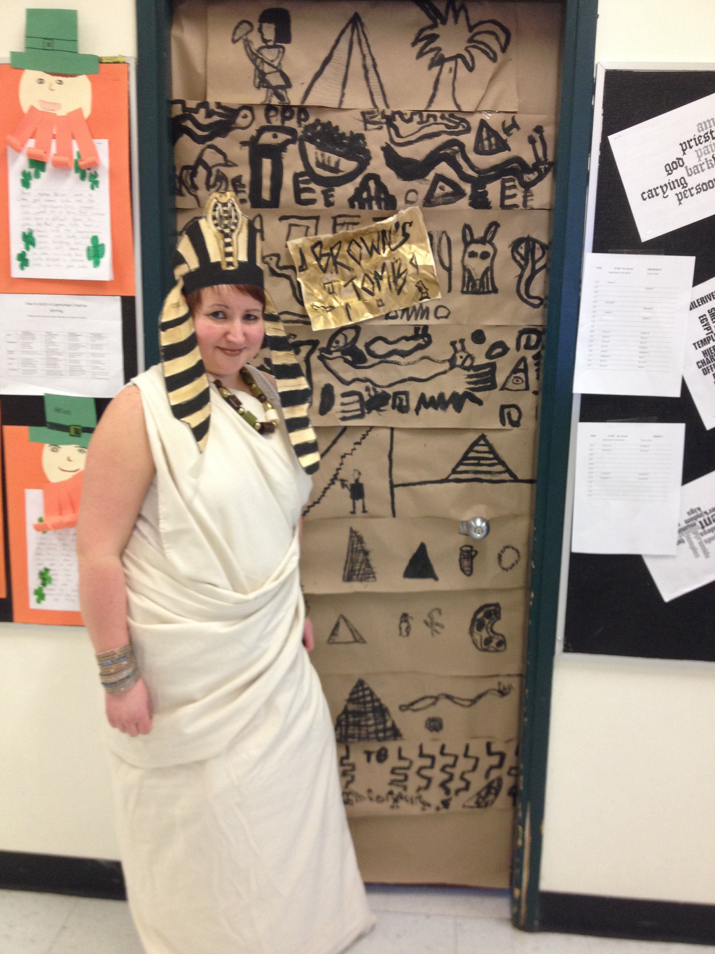 Dressed Up Like An Egyptian For My Classes Egyptian Party