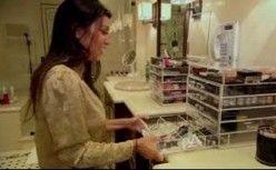 Kim Kardashian Makeup Tips Organizer Kim Kardashian