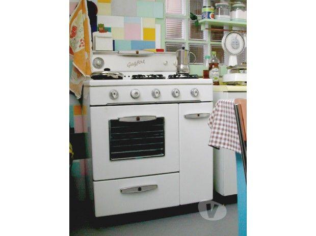Cucina Gasfire anni 50, vintage modernariato