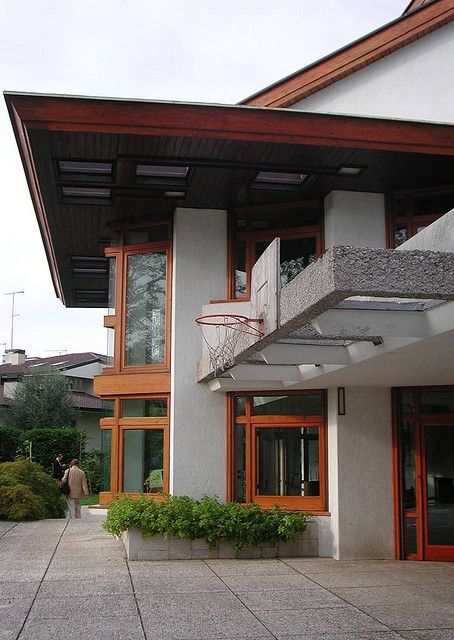 Casa Romanelli. 1952. Filzi, Italy. Angelo Masieri completed by Carlo Scarpa and Bruno Morassutti