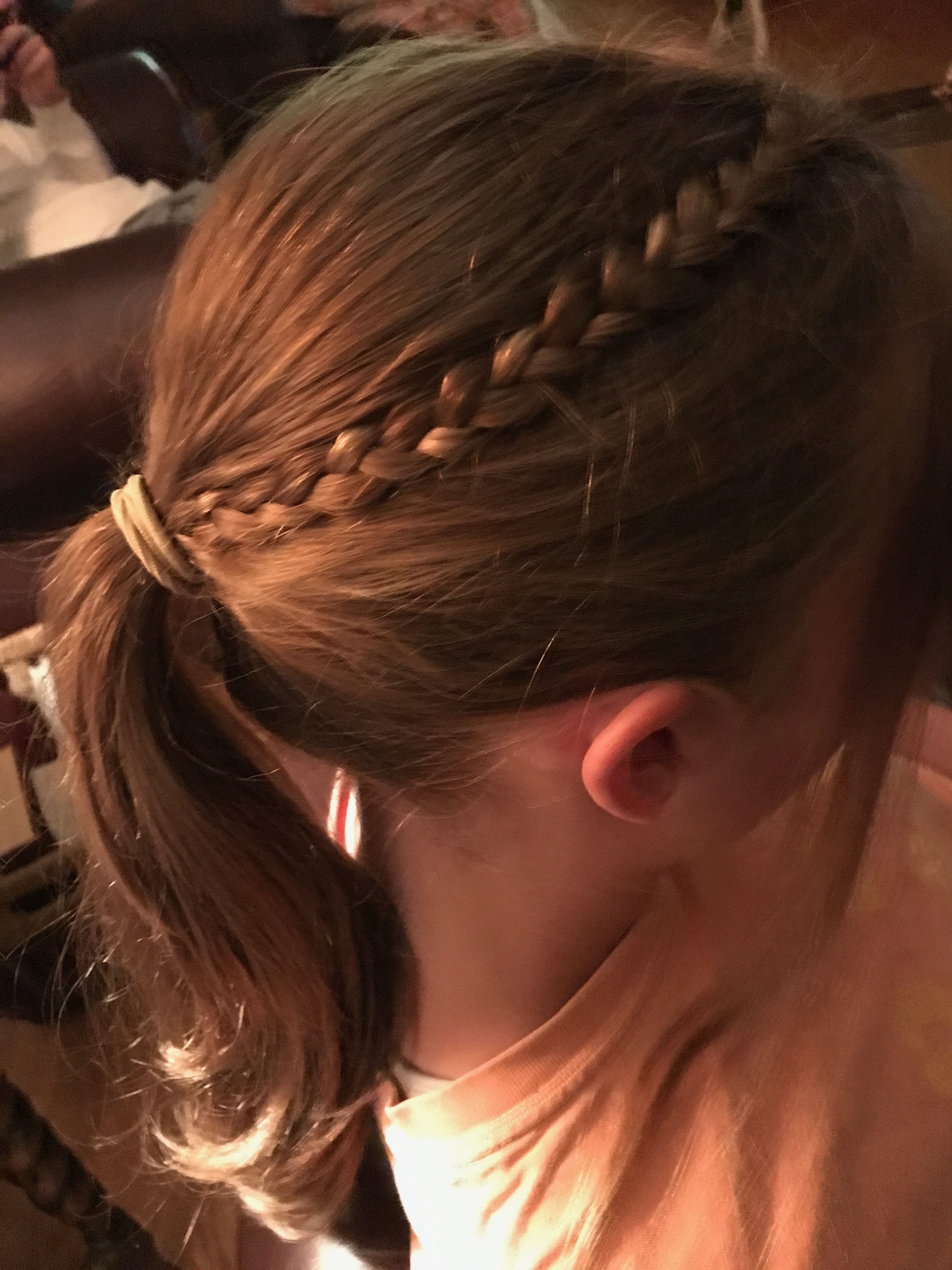Cute casual braid into ponytail hairstyles pinterest casual