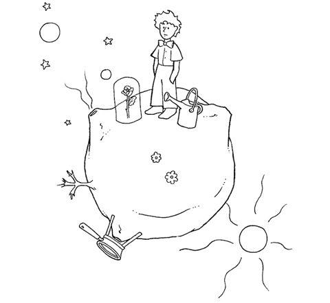 Piccolo Principe Cerca Con Google El Principito El Principito Dibujos Leon Para Colorear