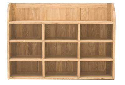 mobel oak reversible wall rack furniture