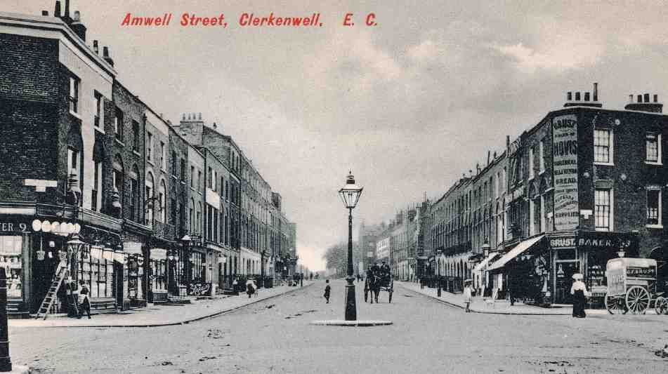 Amwell Street and Myddelton Square area | British History Online London N1/WC1X 1906
