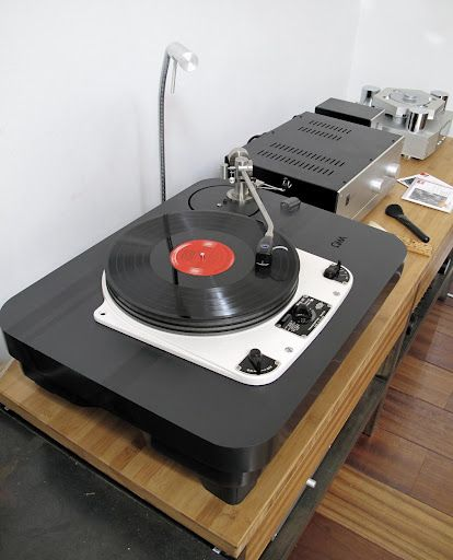 Garrard 301, Oswald Mills Audio slate plinth and Fidelity Research FR66S tonearm
