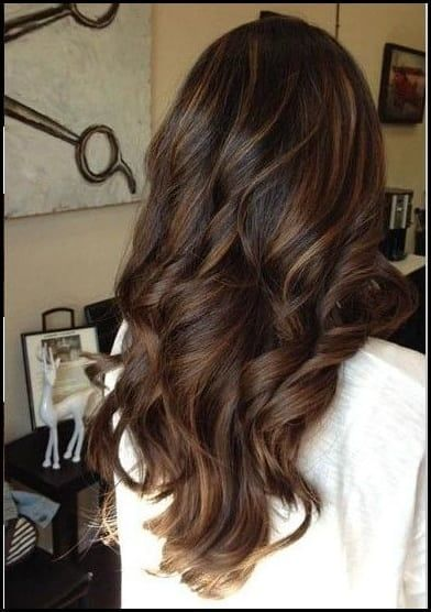 frische balayage braune haare ideen langhaar frisuren pinterest balayage braunes haar. Black Bedroom Furniture Sets. Home Design Ideas