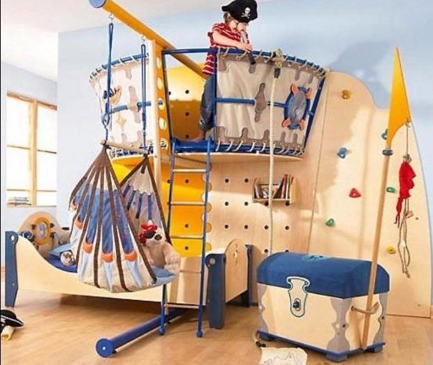 Habitaciones Sorprendentes Para Niños | MULTIPLES IDEAS | Pinterest ...