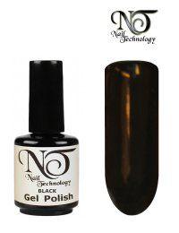 Gel Polish Black 15 ml