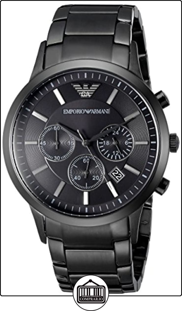 520859e7fdcb Emporio Armani AR2453 - Reloj cronógrafo de cuarzo para hombre ...