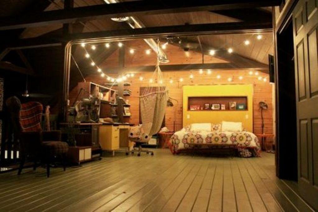 Reizvolle Aussehen, Mit Lichterketten Im Schlafzimmer Für Teens    Schlafzimmer