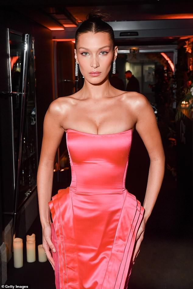 Bella Hadid wows at Naked Heart France Gala Dinner for PFW – fashion