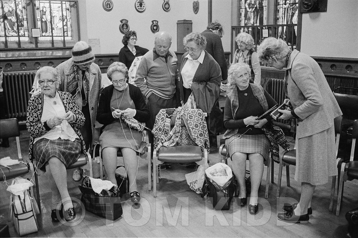 Vintage knitters - Tom Kidd Photography