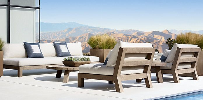 Lovely Rustic Outdoor Furniture · Merida Collection   Weathered | RH