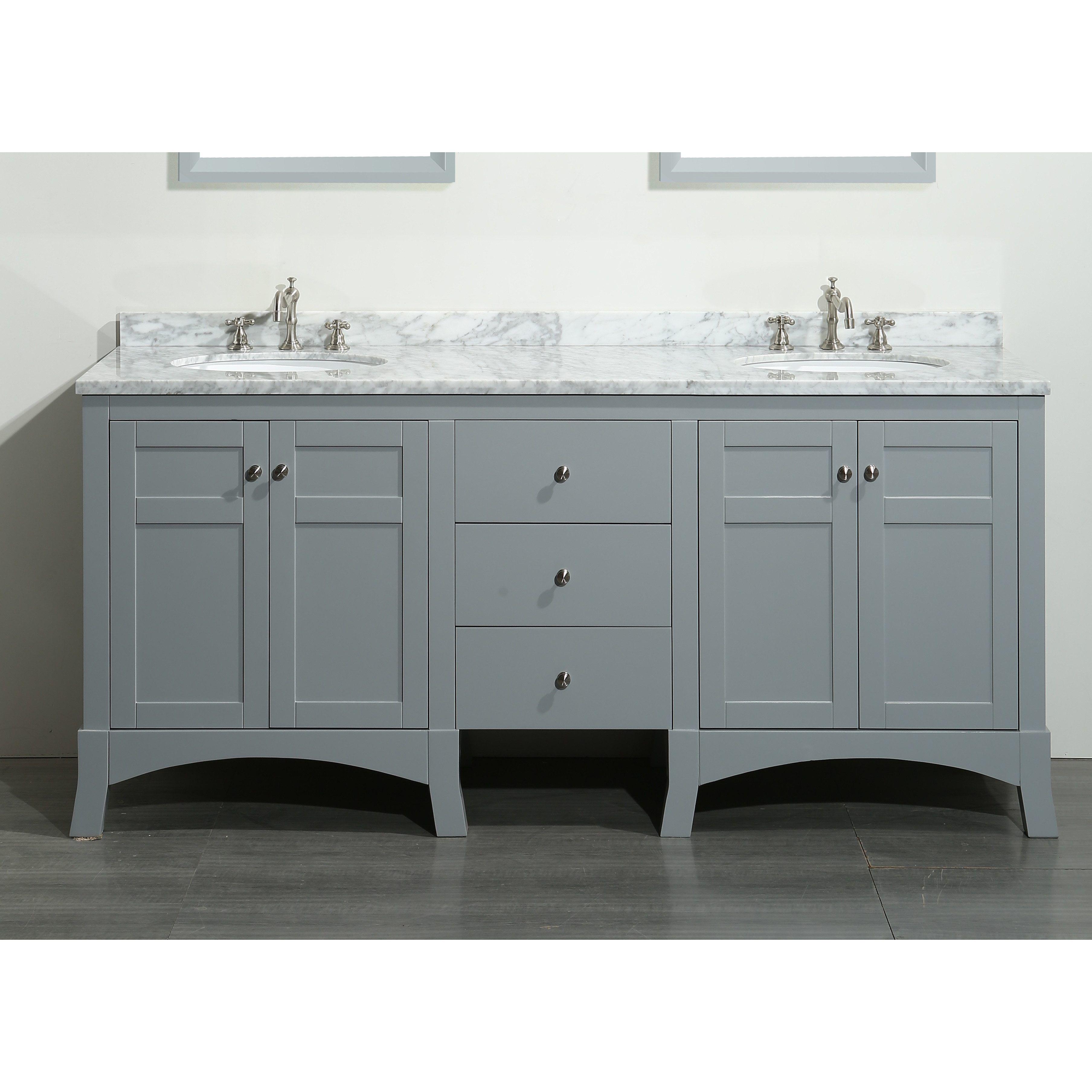 Vanities With Tops Inch Vanity Bathroom Sets Double Narrow Depth