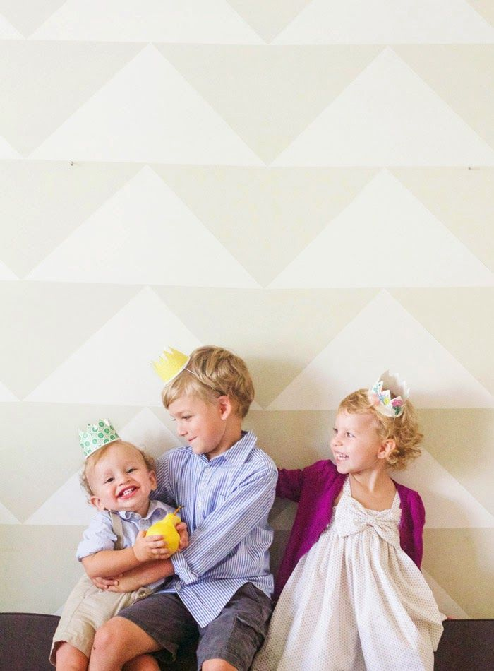 diy paper cup party crowns party ideen basteln am. Black Bedroom Furniture Sets. Home Design Ideas