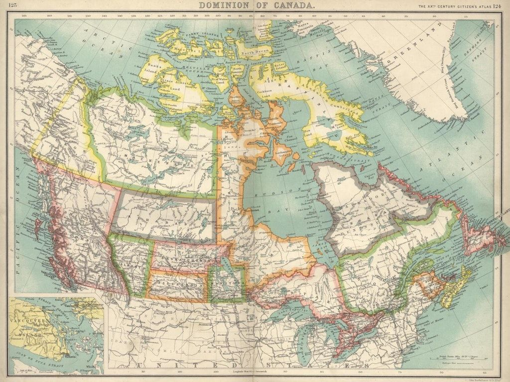 Map Of Canada 1900.Map Of Canada Ca 1900 Maps Map Facts About Canada Canada