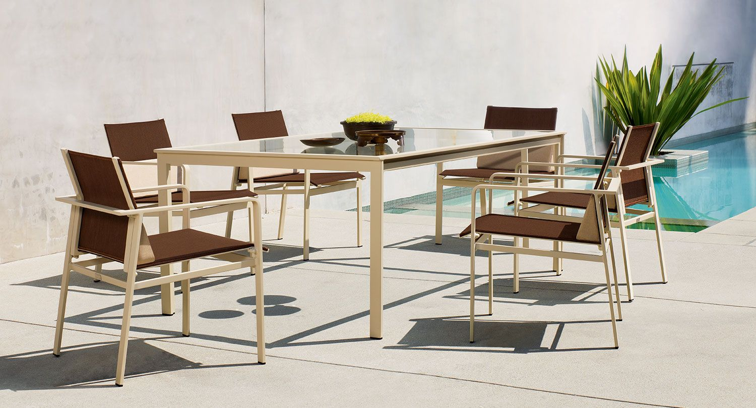 SWIM Outdoor Furniture Collection, From Brown Jordan