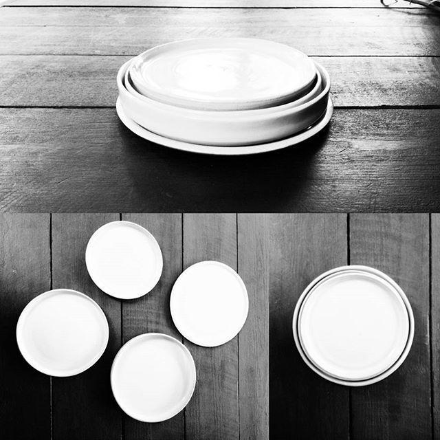 Ceramic plates: the beginning... // Platos cerámicas: el inicio... #denumudesign #denumu #interior #ceramics #ceramica #handmade #hechoamano