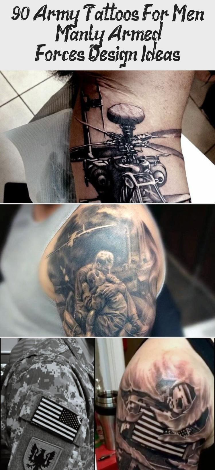 90 Army Tattoos For Men – Manly Armed Forces Design Ideas ...