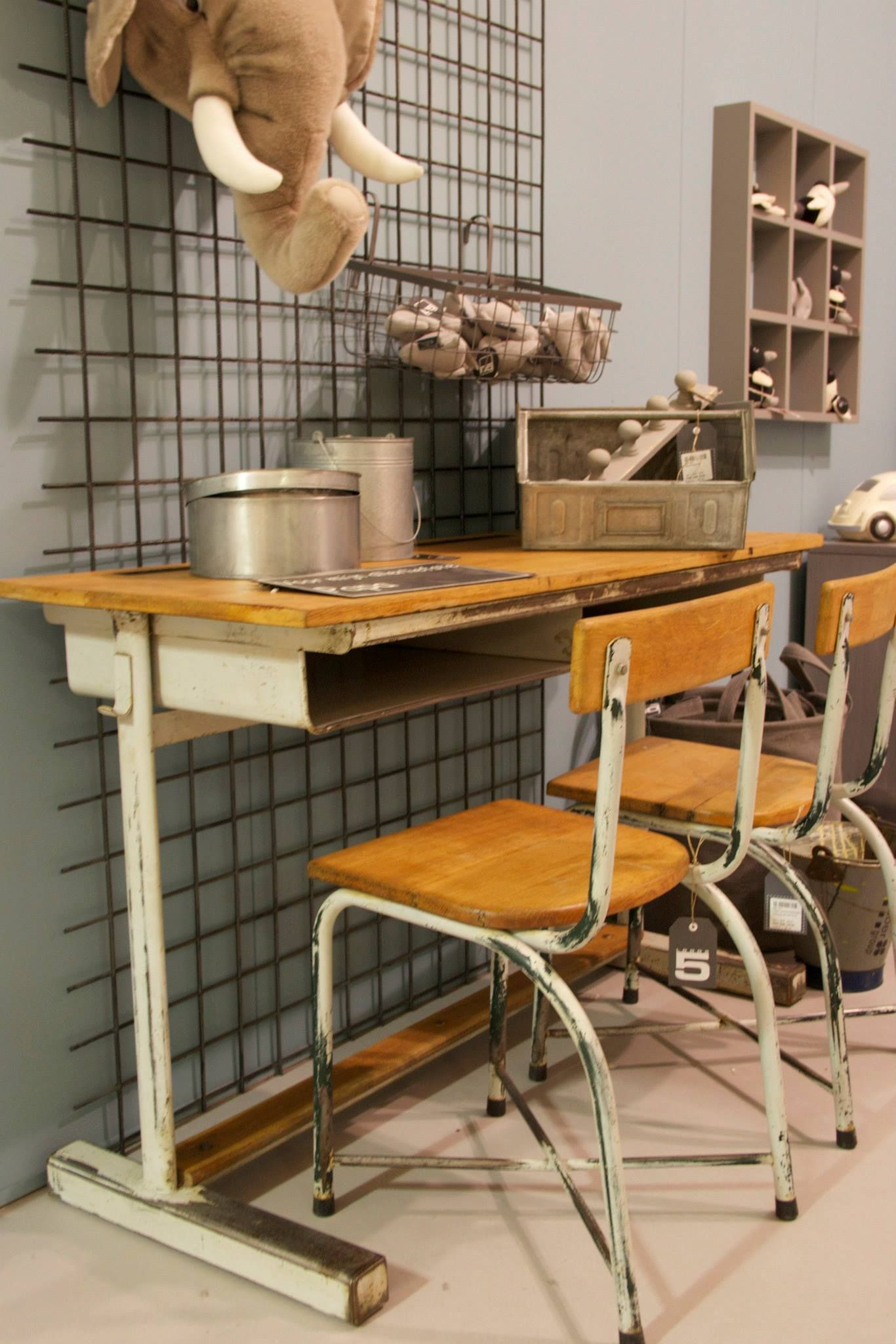 Loods 5 Kinderkamer Vintage Bij Loods5 Dziecko Cool Kids Rooms Boys Industrial