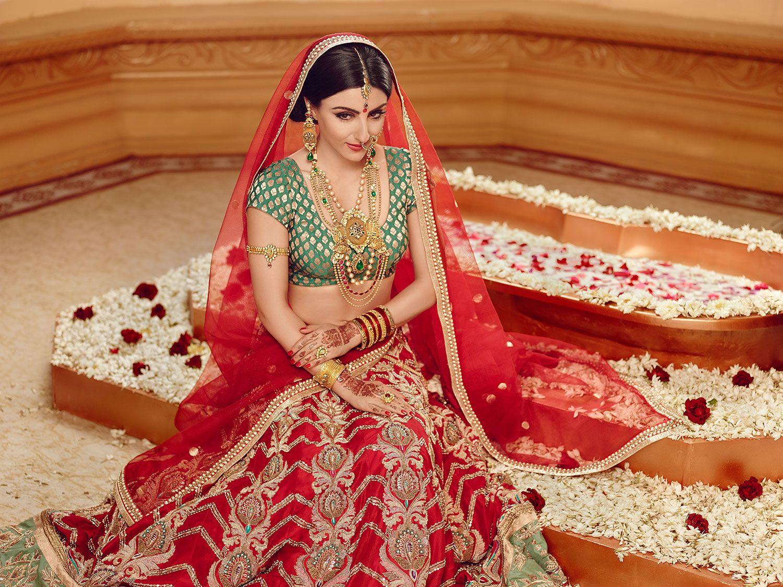 North indian hindu bride brides of india pinterest for Indian wedding dresses for bride