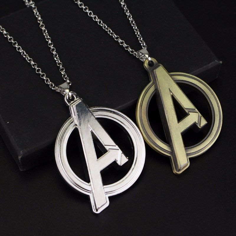 The avengers symbol pendant necklace universo marvel dijes y universo the avengers symbol pendant necklace aloadofball Images