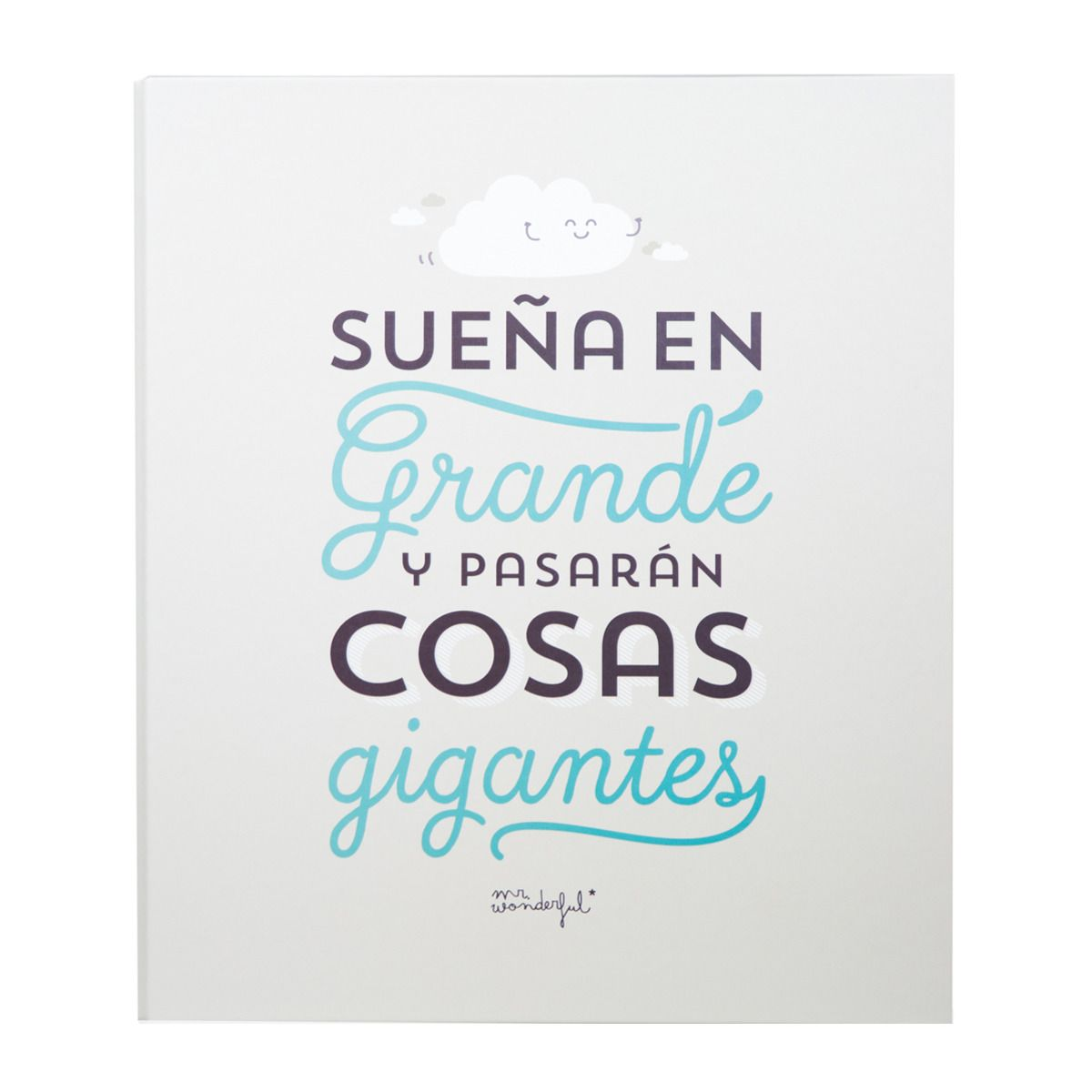 Archivador Mr Wonderful Sue A En Grande Y Pasar N Cosas Gigantes  ~ Comprar Agenda Mr Wonderful El Corte Ingles