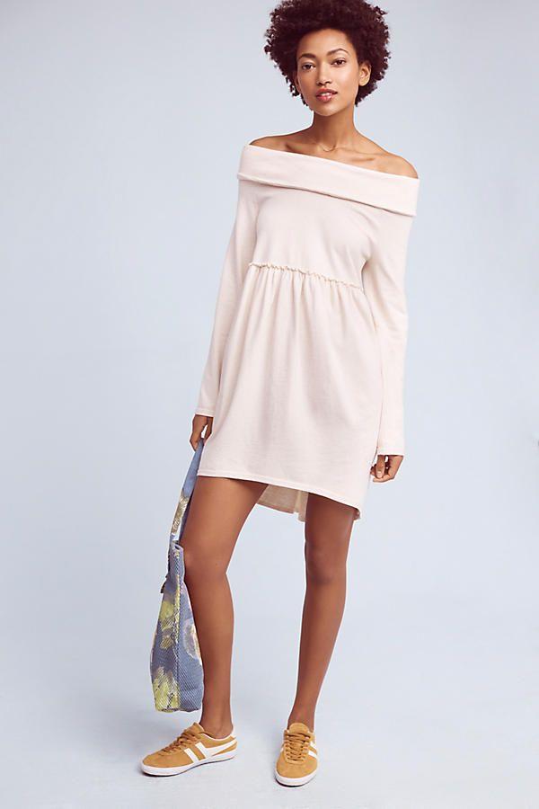 288d1a44c96 Slide View  2  Off-The-Shoulder Cocoon Dress
