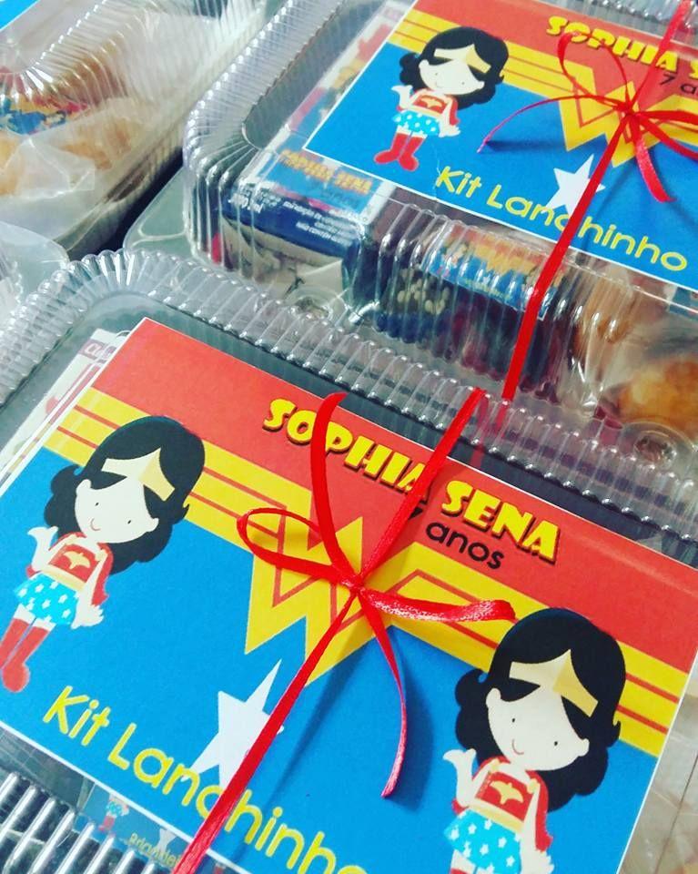 Kit Lanche Para Aniversário Na Escola - Buscar con Google