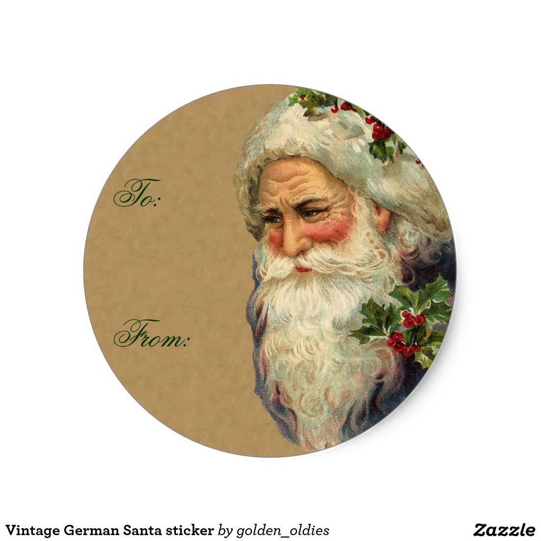 Christmas santa vintage
