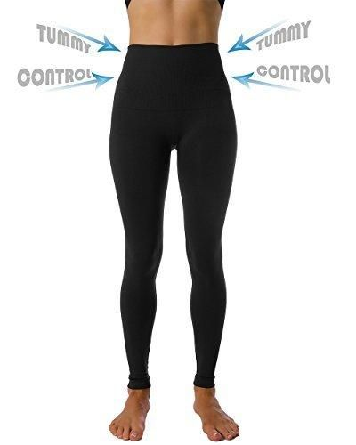 3ee053479c Homma High Waist Tummy Compression Control Slimming Leggings Thights (SMALL  BLACK) #leggingshomma