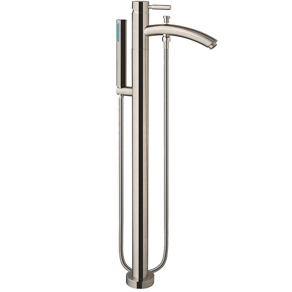 Wyndham Collection Taron Single Handle Freestanding Tub Faucet In