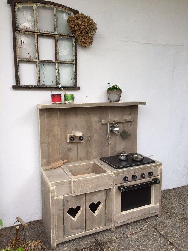 Wunderschöne Massive Holz Kinderspielküche | Pinterest ...