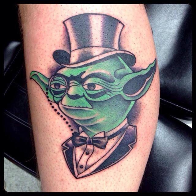Gentleman Yoda