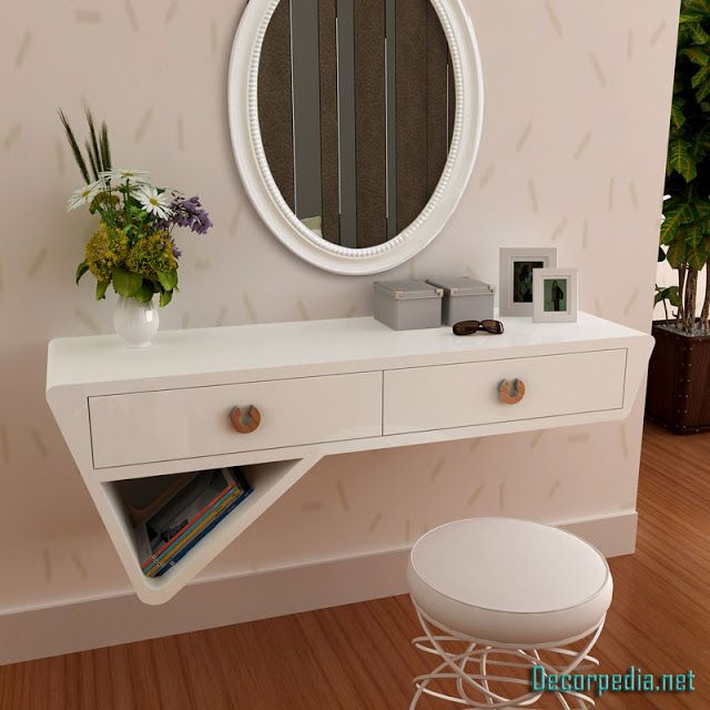 Best Modern Dressing Table Design Ideas With Mirror White 640 x 480