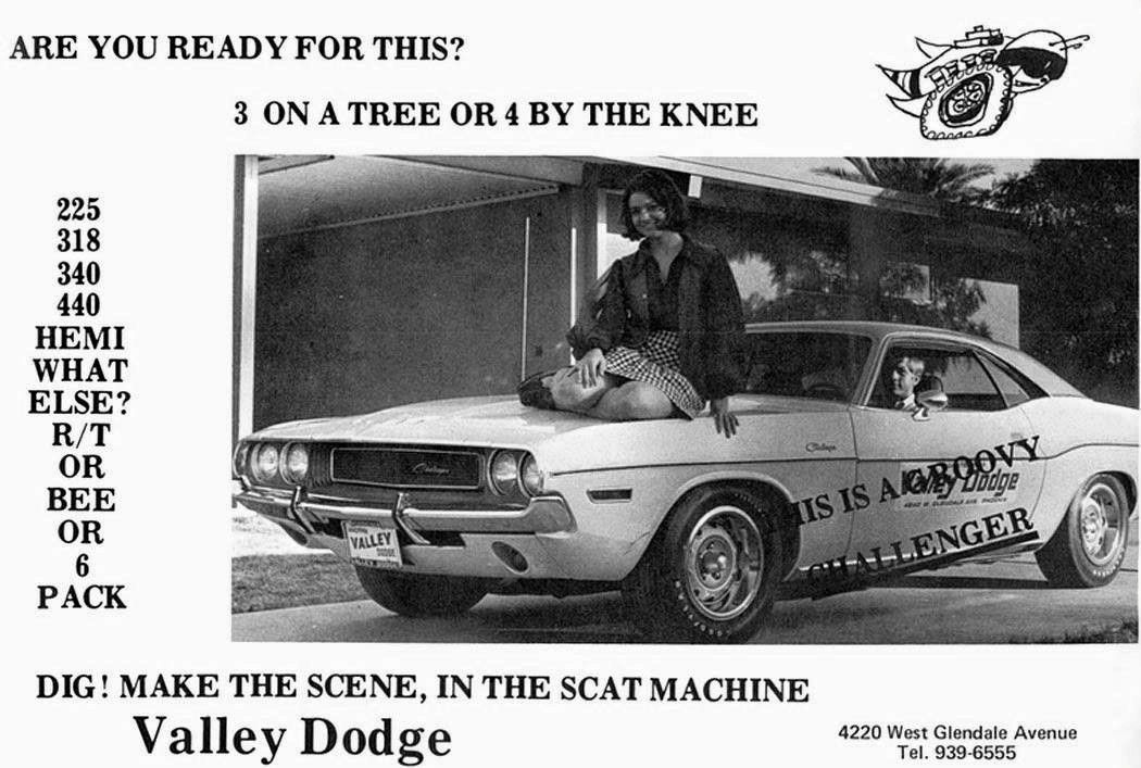 1970\'S Valley Dodge Dealership, Glendale, Arizona | Vintage Car ...