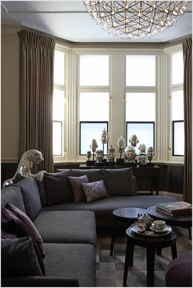 Fresh Bay Window Living Room