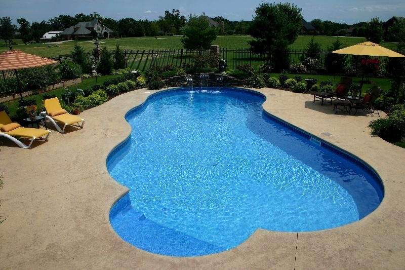 Water Feature Photos Fort Smith Springdale Nw Arkansas Sheer Descents Water Features Custom Pools Fort Smith