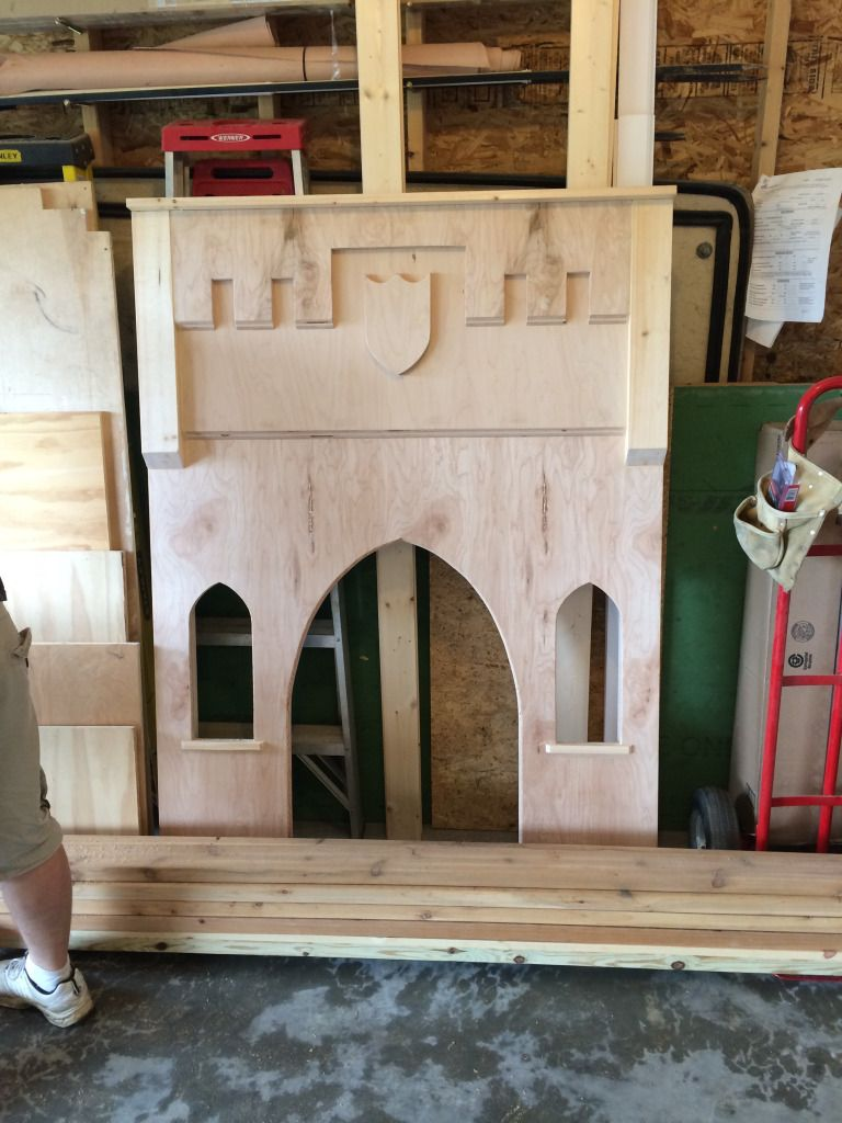 Dad Builds Awesome CASTLE Bed Frame for Daughter (45