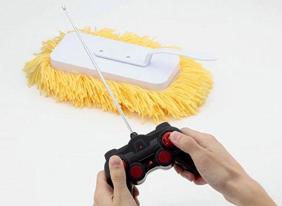 <p>Empresa desenvolve produto que limpa o chão enquanto morador descansa </p>