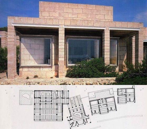 J rn utzon casa en porto petro mallorca son arquitectes jorn utzon pinterest - Arquitectos en mallorca ...
