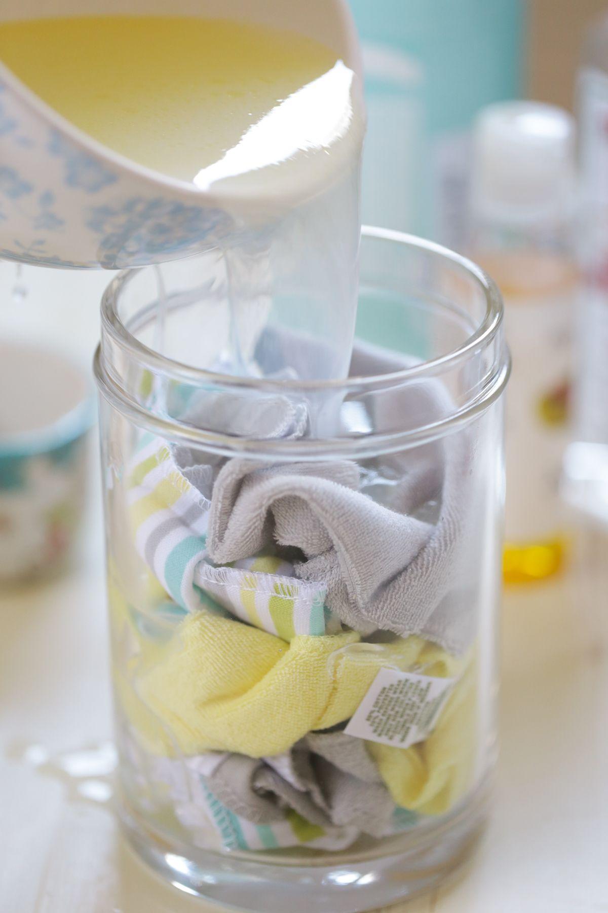 DIY Homemade Reusable Facial Cleansing Wipes Homemade