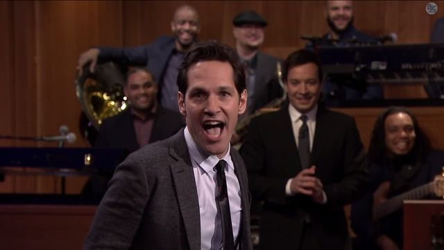 Watch: Paul Rudd Magnificently Lip Sync's Queen — Jimmy Fallon was no match for Rudd's amazing performance of 'Don't Stop Me Now'