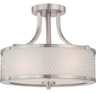 View the Nuvo Lighting 60/4692 Fusion 3 Light Semi-Flush Indoor Ceiling Fixture - 13.75 Inches Wide at Build.com.