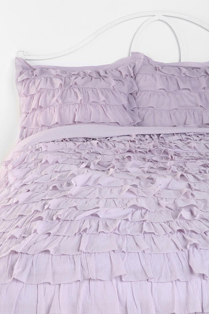 Waterfall Ruffle Sham Set Of 2 Online Only With Images