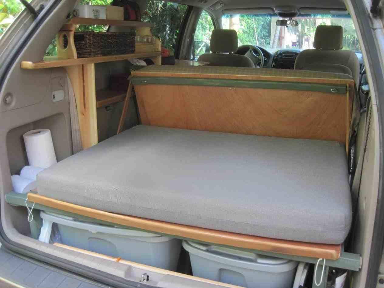 Dodge Durango Camper Conversion | SUV camping ideas