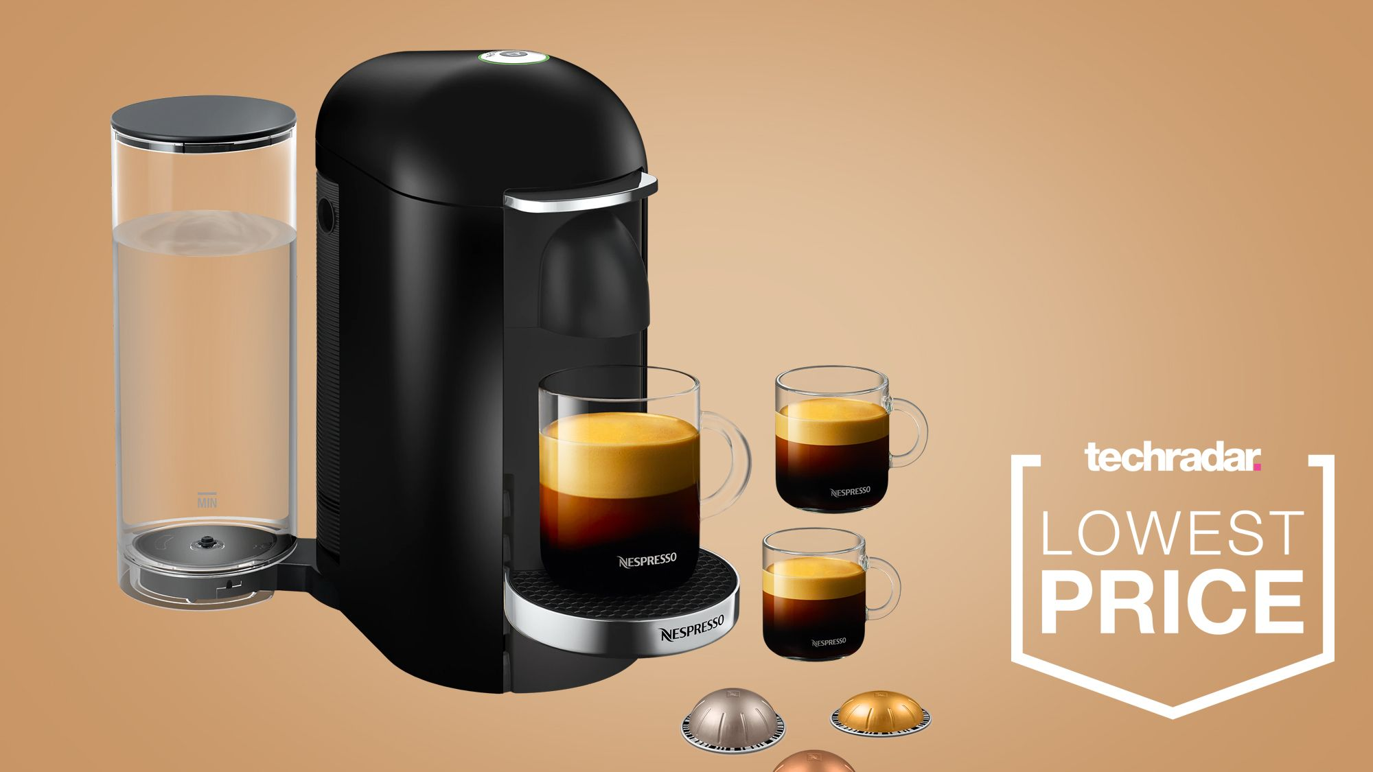 Currys' halfprice Nespresso VertuoPlus coffee machine
